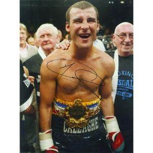 Joe Calzaghe  - Autograph - Signed Colour Photograph