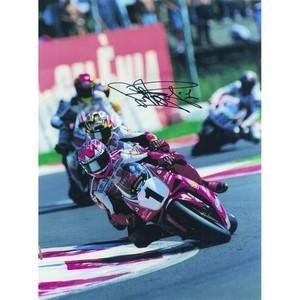 Carl Fogarty - Autograph - Signed Colour Photograph
