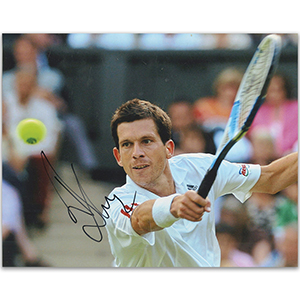 Tim Henman - Autograph - Signed Colour Photograph