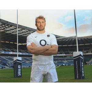 Chris Robshaw - Autograph - Signed Colour Photograph