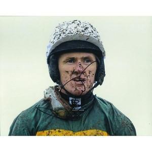 Tony McCoy - Autograph - Signed Colour Photograph