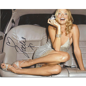 Jodie Kidd - Autograph - Signed Colour Photograph