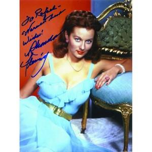 Rhonda Flemming - Autograph - Signed Colour Photograph