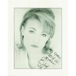 Emily Lloyd - Autograph - Signed Black and White Photograph