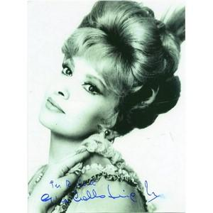 Gina Lollobrigida - Autograph - Signed Black and White Photograph