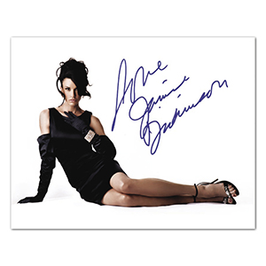 Janice Dickinson Autograph Signed Photograph