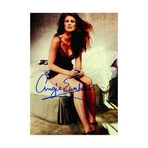 Angie Everhart - Autograph - Signed Colour Photograph