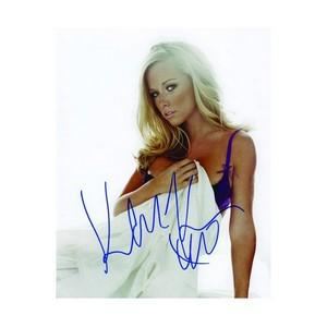Kendra Wilkinson - Autograph - Signed Colour Photograph