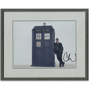 Christopher Ecclestone Signed Photograph (framed)