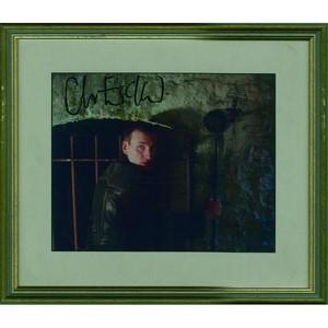 Christopher Ecclestone  - Autograph - Signed Colour Photograph - Framed