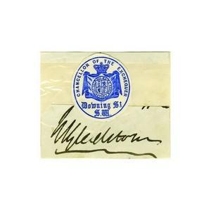 William Gladstone - Signature