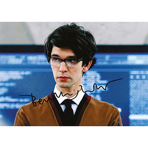 Ben Whishaw Autograph Signed Photograph