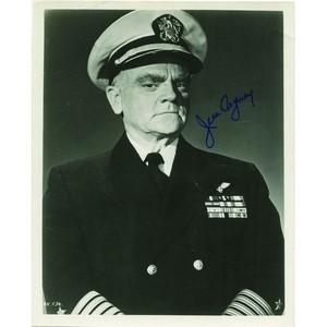 James Cagney- Autograph - Signed Black and White Photograph