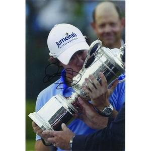 Rory Mcllroy - Autograph - Signed Colour Photograph