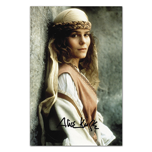 Alice Krige Autograph Signed Photograph