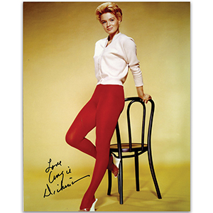 Angie Dickinson Autograph Signed Photograph