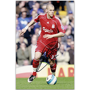 Martin Skrtel - Autograph - Signed Colour Photograph