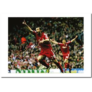Javier Mascherano Ex Liverpool FC - Autograph - Signed Colour Photograph