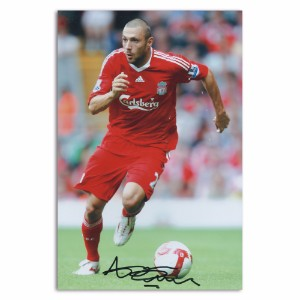 Andrea Dossena - Autograph - Signed Colour Photograph