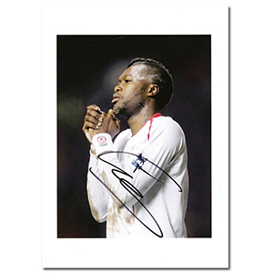 Djibril Cisse- Autograph - Signed Colour Photograph