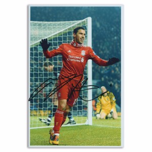 Maxi Rodriguez - Autograph - Signed Colour Photograph