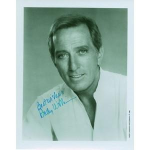 Andy Williams - Autograph - Signed Black and White Photograph