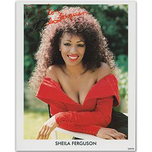 Sheila Ferguson - Autograph - Signed Colour Photograph