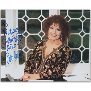 Cleo Laine - Autograph - Signed Colour Photograph