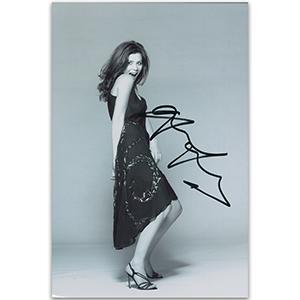Anna Friel - Autograph - Signed Black and White Photograph