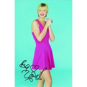 Zoe Ball - Autograph - Signed Colour Photograph