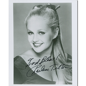 Charlene Tilton - Autograph - Signed Black and White Photograph