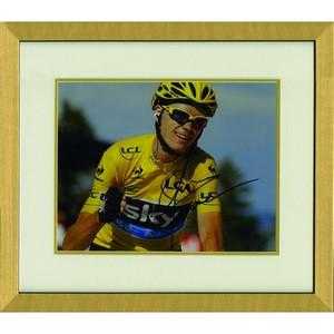 Chris Froome - Framed Signed Photograph