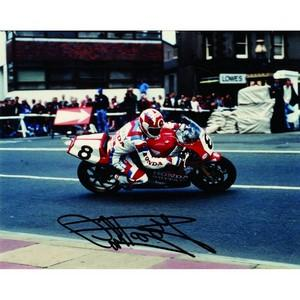Carl Fogarty - Autograph - Signed Colour Photograph
