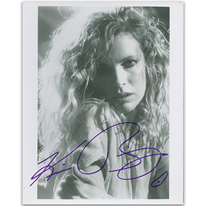 Kim Basinger - Autograph - Signed Black and White Photograph