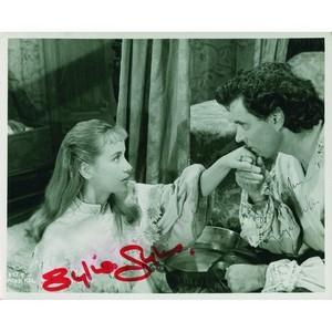Sylvia Syms & George Baker - Autograph - Signed Black and White Photograph