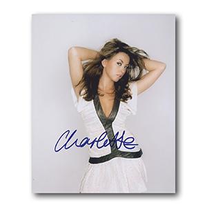 Charlotte Church- Autograph - Signed Colour Photograph
