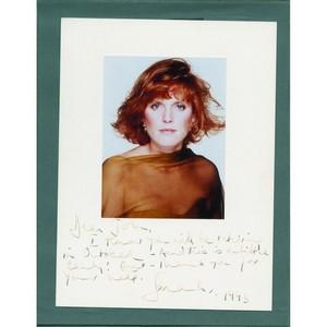 Sarah Ferguson Autograph