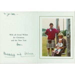 Princess Diana & Prince Charles Signatures