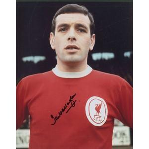 Ian Callaghan - Autograph - Signed Colour Photograph