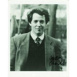 Matthew Broderick - Autograph - Signed Black and White Photograph