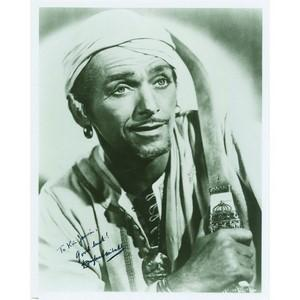 Douglas Fairbanks Jr. - Autograph - Signed Black and White Photograph