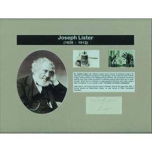 Joseph Lister - Signature