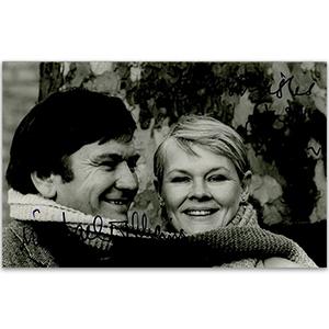 Judi Dench & Michael Williams