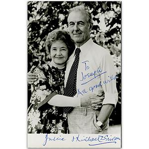 Dulcie & Michael Dennison Autograph Signed Photograph