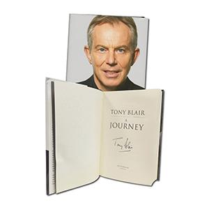 Tony Blair Signed Book  'A Journey'