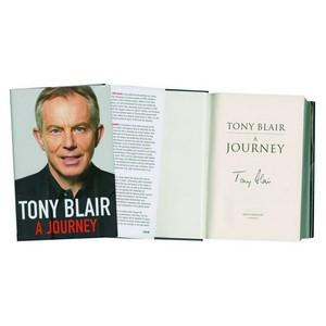 Tony Blair Signed Autobiography 'A Journey'