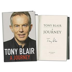 Tony Blair Signed Book