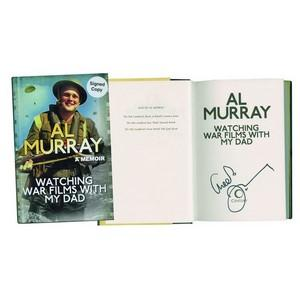 Al Murray Signed Book 'Watching War Films with My Dad'