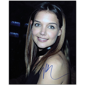 Katie Holmes  Autograph Signed Colour Photograph