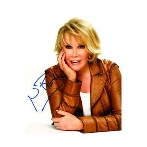 Joan Rivers - Autograph - Signed Colour Photograph